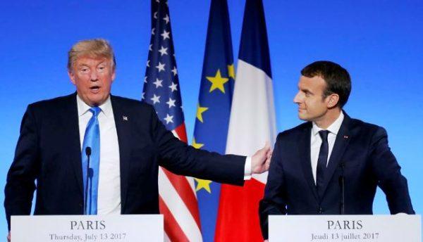 Президенти США і Франції говорили про Україну