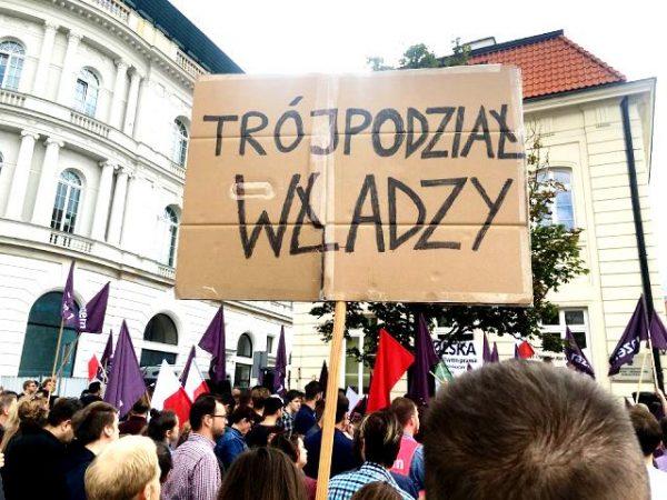 Варшав'яни не задоволені судовою реформою