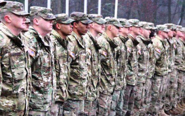 Американські військові на пожежі у Львові