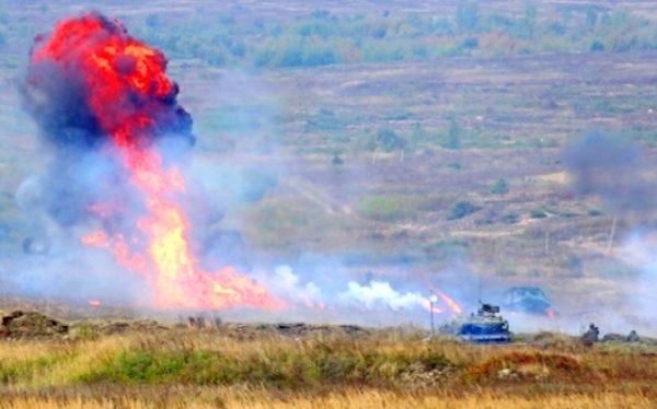 Нещасний випадок на змаганнях танкістів