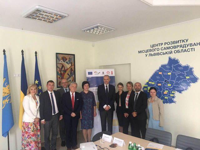 Делегація Республіки Польща вивчала стан впровадження реформи децентралізації на Львівщині