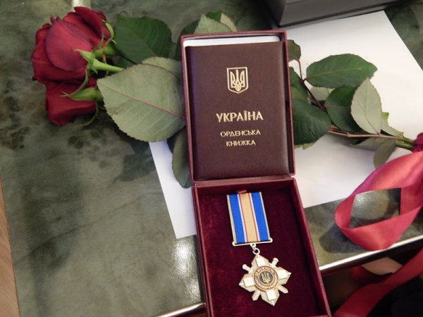 Бущанку Марію Матвіїв нагороджено Орденом «За мужність» III ступеня
