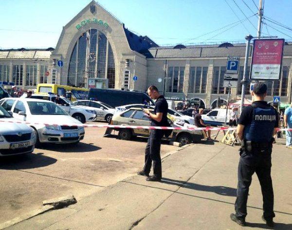 Стрілянина біля київського вокзалу