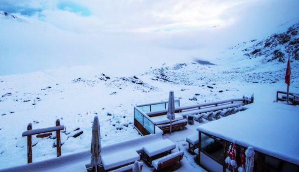 Серпневий візит зими у Альпах