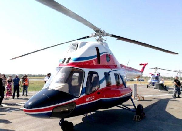 Презентовано перший український гелікоптер