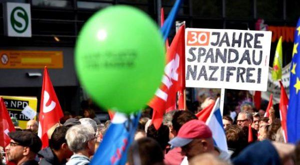 У Берліні заблокували ходу неонацистів