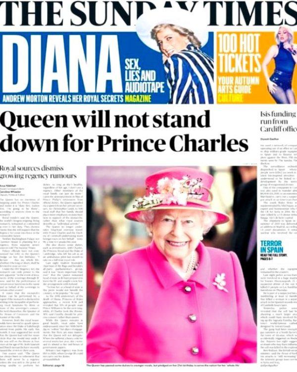Чутки про зречення Єлизавети II безпідставні