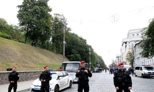 Вибух у центрі Києва