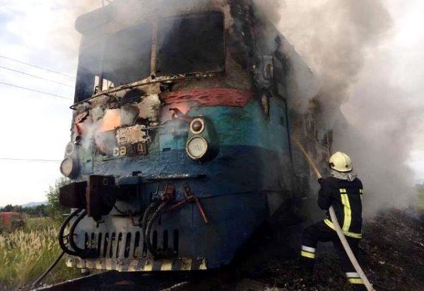 В Україні чомусь спалахують потяги