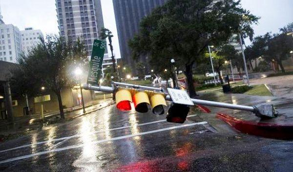 Небувалий буревій на узбережжі Техасу