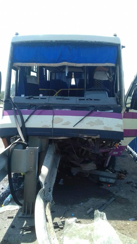 ДТП із маршруткою у Гамаліївці: водій загинув, двоє пасажирів постраждали