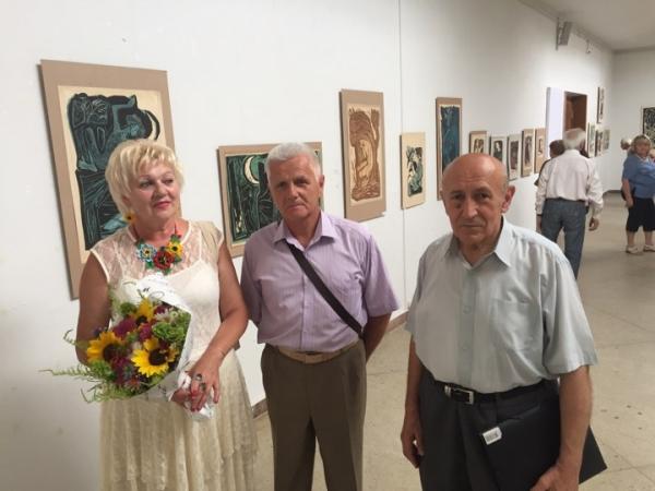 Бущани організували у Львові виставку творів Софії Караффи-Корбут