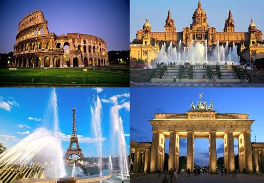Захоплюючі тури в Європу
