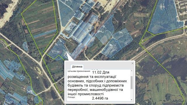 Синютка надав місцевій фірмі землі для виробництва металочерепиці