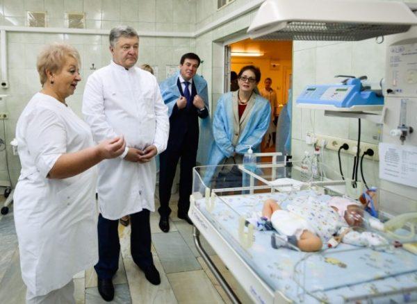 Новонароджені побачили Президента України