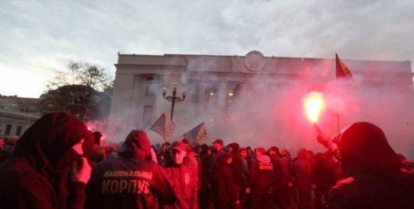 Сутички у залі Верховної Ради