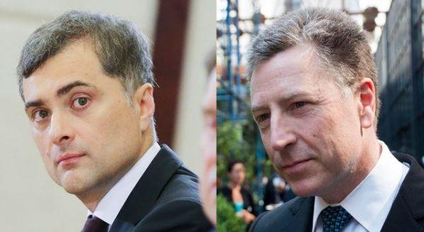 Курт Волкер і Владислав Сурков говорили про Донбас