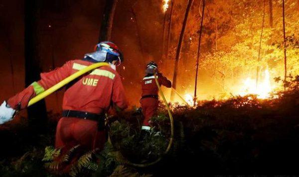 У Іспанії та Португалії палають ліси