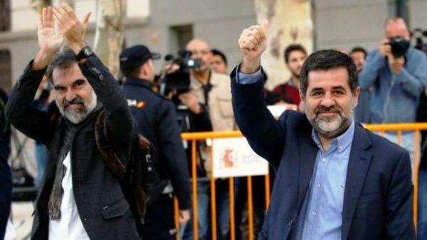 Перші арешти каталонських активістів