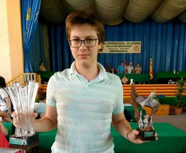 Українець став гросмейстером у 15 років