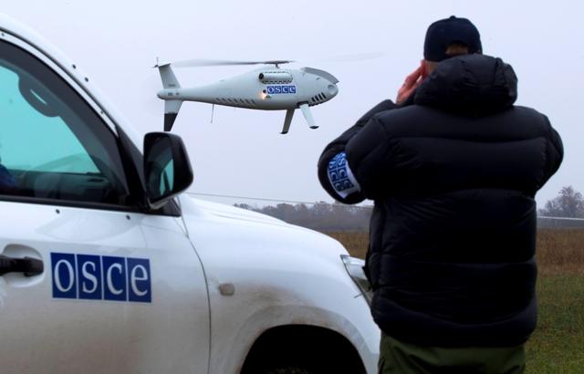 Окупанти обстріляли безпілотники ОБСЄ