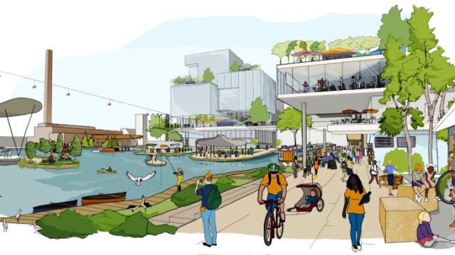 У Торонто збудують місто майбутнього