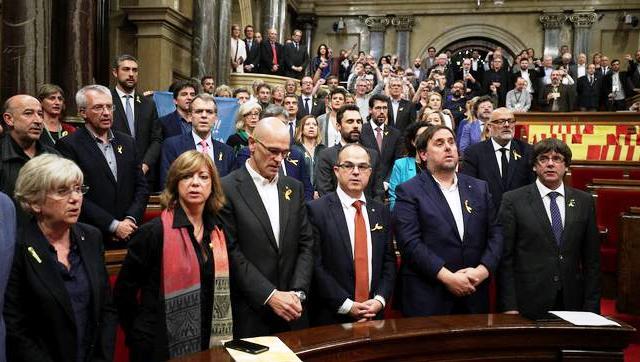 Парламент Каталонії сказав «Так!» незалежності