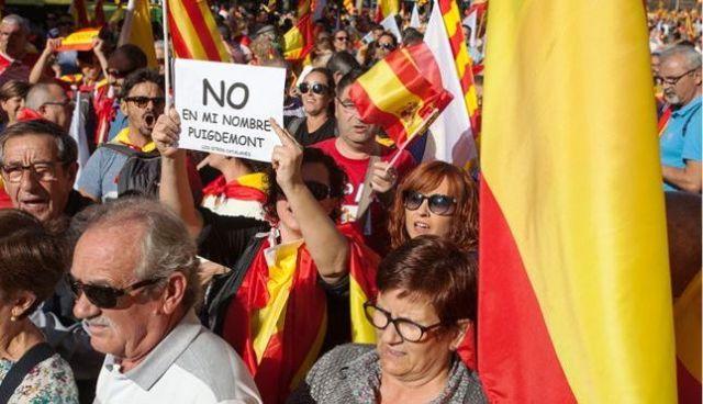 Хода за єдність Іспанії відбулася у Барселоні