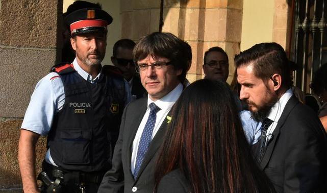 Лідеру Каталонії висунуто звинувачення