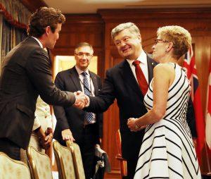 Заява прем'єр-міністра щодо зустрічі з Петром Порошенком