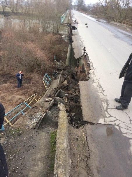 Будівництво нового мосту в Жидачівському районі планують розпочати цього року