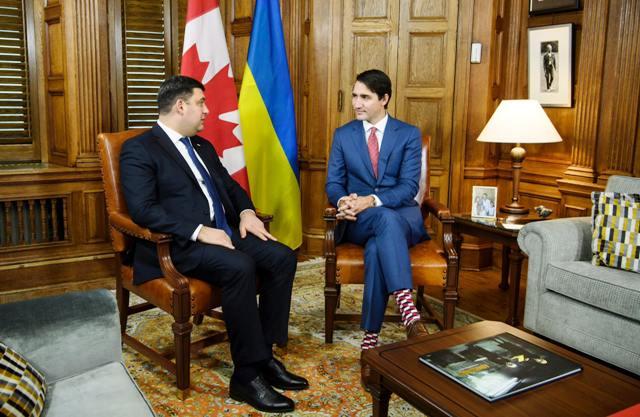 Візит очільника уряду України до Канади