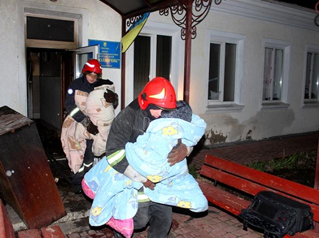 Нічна пожежа у місті Хмельницькому