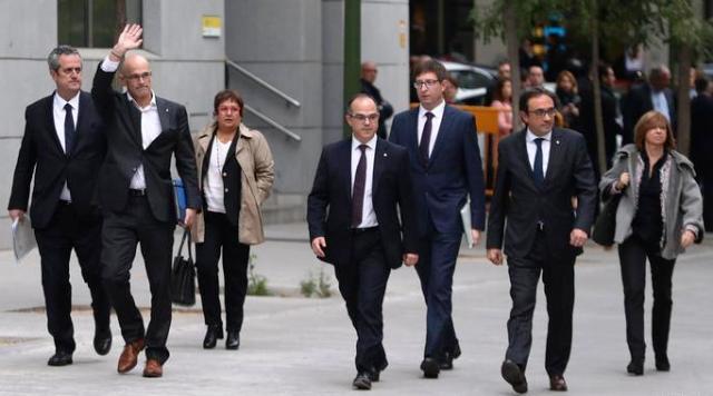 Почалися арешти «батьків» каталонської незалежності