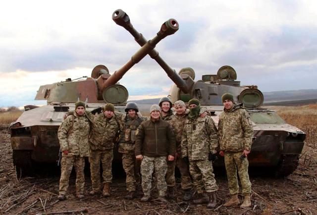 Українські гармаші до бою готові