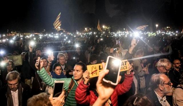 У Барселоні лунає: «Свободу політв'язням!»
