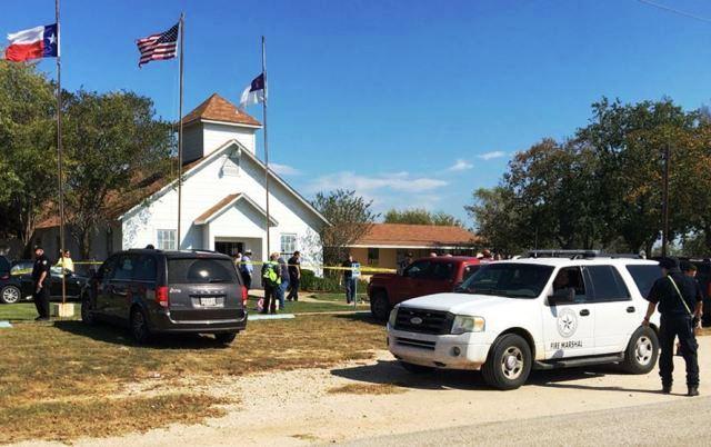Трагедія у церкві американського містечка