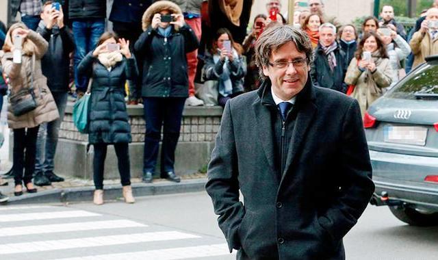 Каталонський лідер знову на волі
