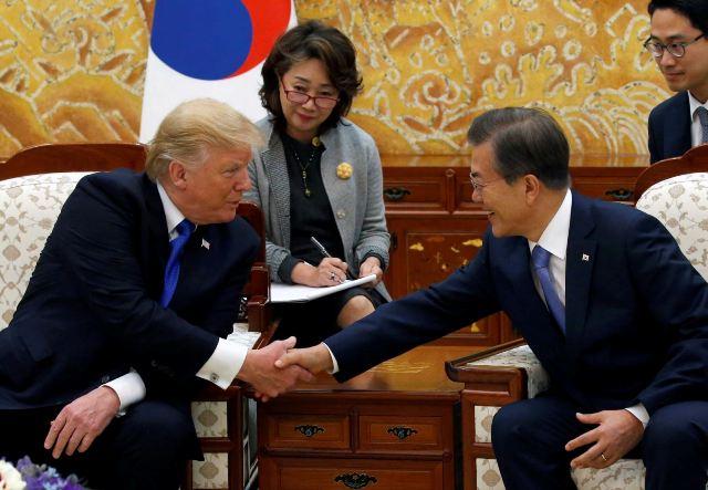 Президент США вірить у тиск на КНДР