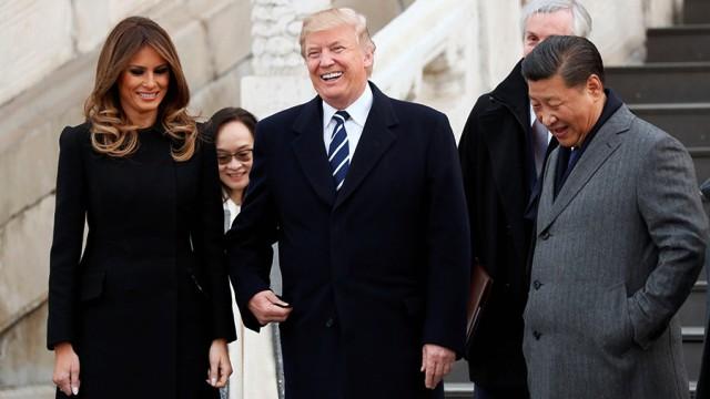 Дональд Трамп прибув до Китаю
