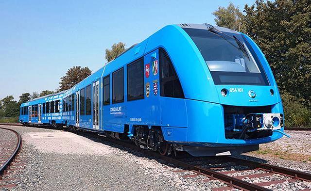 Водень у Німеччині почав служити залізниці