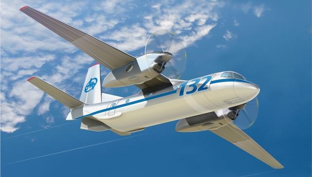 На авіасалоні у Дубаї презентують Ан-132D