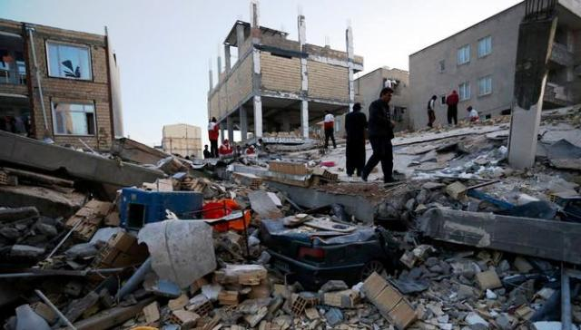 Землетрус накоїв лиха у двох державах