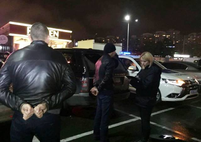 У Києві затримано авто з вибухівкою