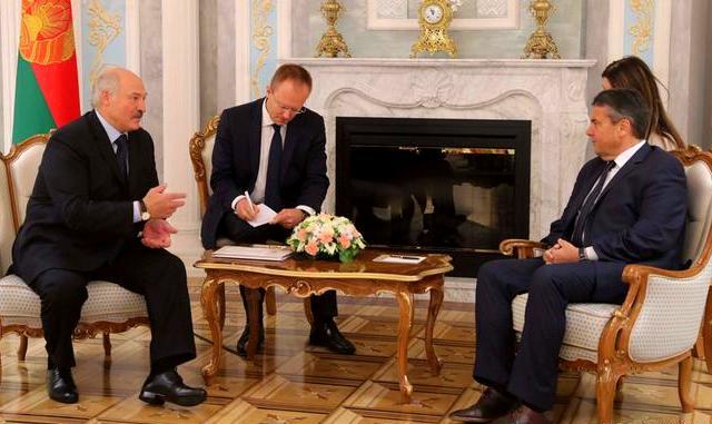 Зігмар Габріель пропонує Білорусі стати мостом
