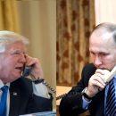 Телефонна розмова президентів США і Росії