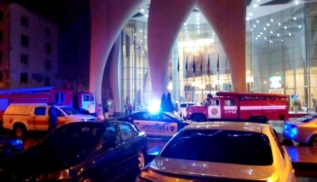 Пожежа у батумському готелі