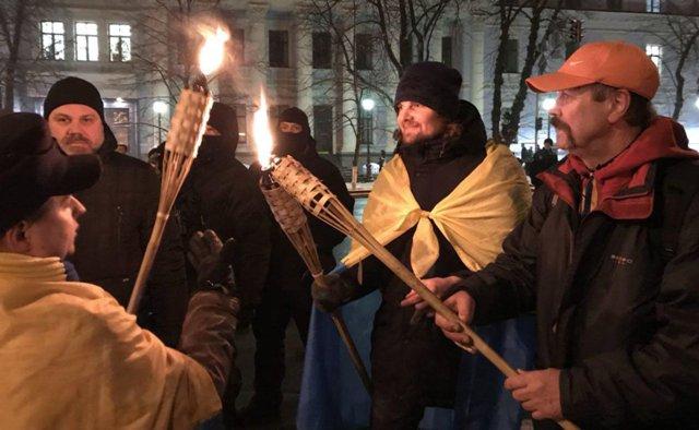Сутички на 4-ті роковини розгону Євромайдану