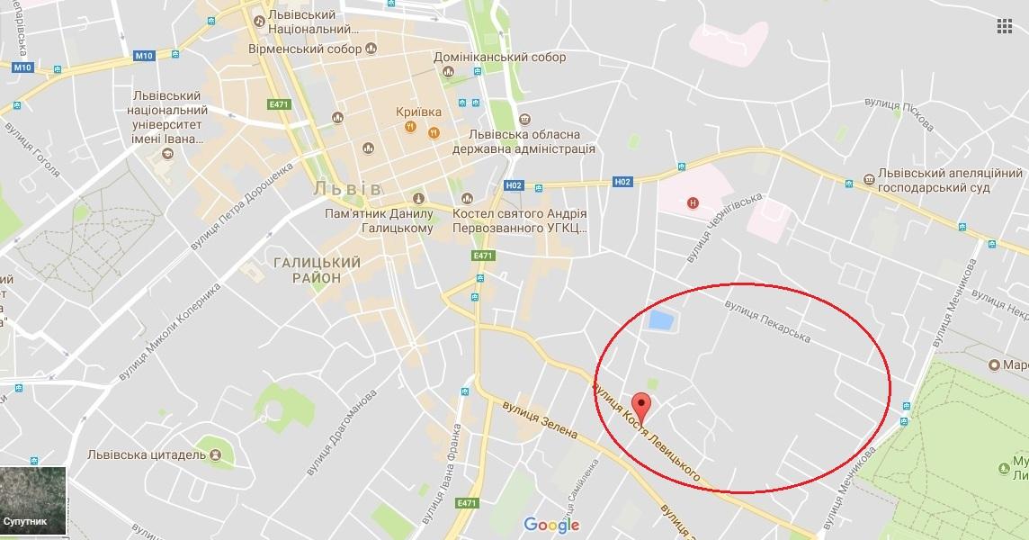 В центрі Львова збудують нову церкву