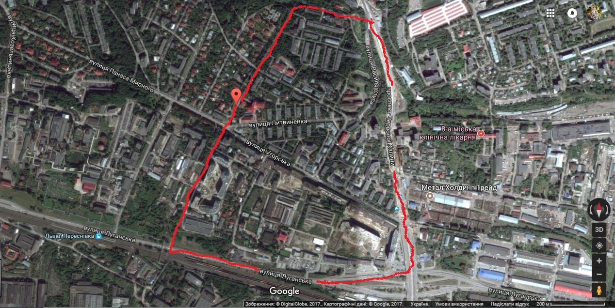 У Львові поруч із колишнім «Поляроном» хочуть збудувати ще два житлові квартали